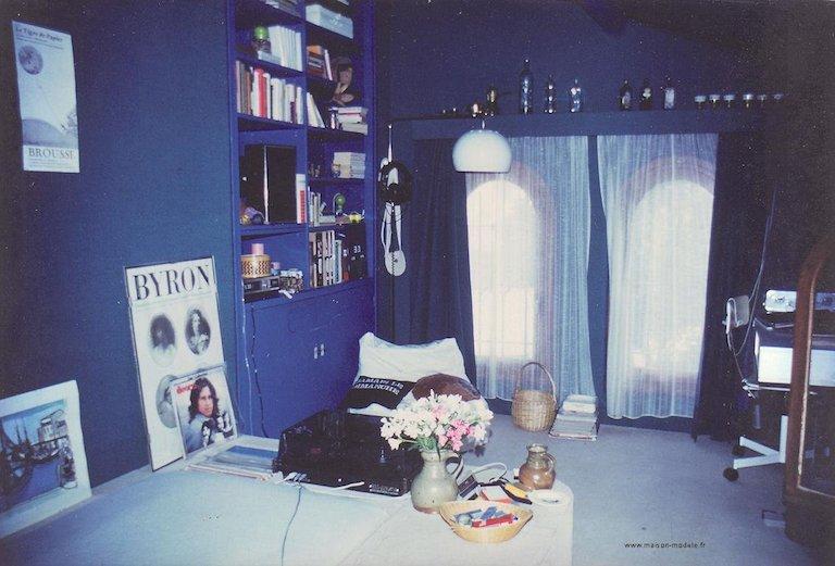 Sylvie Aldebert, Décoratrice à 14 ans, avec la décoration de sa chambre d'ado.