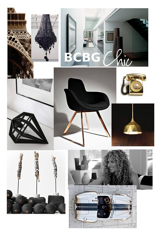 Mood Board BCBG Chic par Maison Modèle, Décoration d'intérieur UFDI sur Antibes, Cannes, Grasse, Nice 06