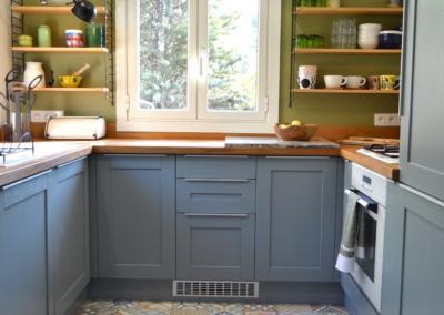 Décoration de cuisine au Rouret par Maison Modèle, Home stager Expert et Décoratrice UFDI à Antibes 06 : vue d'ensemble