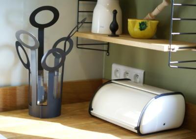 Décoration de cuisine au Rouret par Maison Modèle, Home stager Expert et Décoratrice UFDI à Antibes 06 : Boite à pain