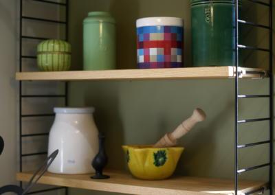 Décoration de cuisine au Rouret par Maison Modèle, Home stager Expert et Décoratrice UFDI à Antibes 06 : Etagères