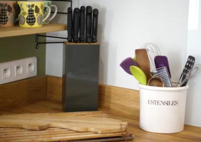 Décoration de cuisine au Rouret par Maison Modèle, Home stager Expert et Décoratrice UFDI à Antibes 06 : Détail décoration