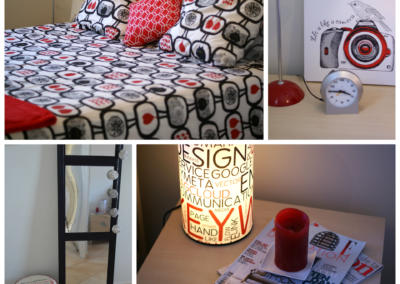 chambre tonique design collage