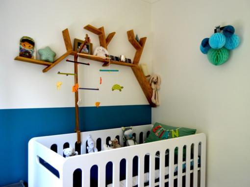 Décoration chambre de bébé à Vence