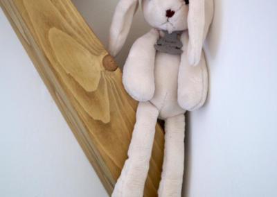 Décoration chambre de bébé à Vence par Maison Modèle, Home stager Expert et Décoratrice UFDI à Antibes 06 : doudou lapin
