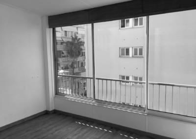 vue baie vitrée avant