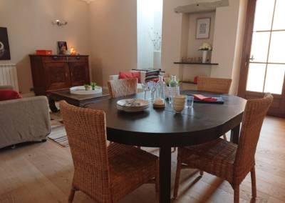 Home Staging Maison Vide Biot (06) Séjour meublé et décoré, par Maison Modèle, Home Stager & Décoratrice UFDI à Antibes 06 - une ambiance cosy
