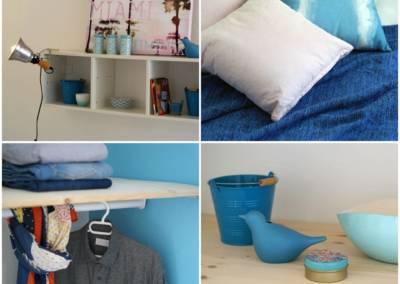 Home Staging Maison Vide Biot - Détails chambre Enfant Californie, par Maison Modèle, Home Stager & Décoratrice UFDI à Antibes 06