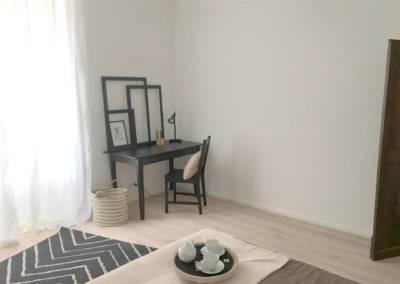 Home Staging Bien Vide La Colle sur Loup (06) Chambre meublée et décorée, par Maison Modèle, Home Stager & Décoratrice UFDI à Antibes 06 - un coin bureau inspirant