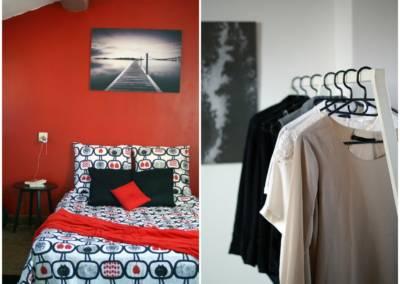 Home Staging Maison Vide Biot - Détails de la suite parentale, par Maison Modèle, Home Stager & Décoratrice UFDI à Antibes 06