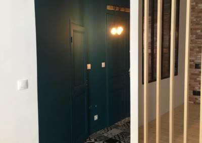 Rénovation Studio NICE Entrée Après, par Sylvie Aldebert, Décoratrice UFDI à Antibes 06 - une entrée stylée