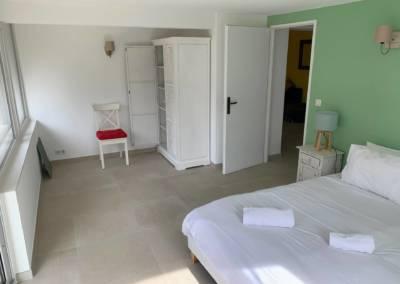 Aménagement d'un sous-sol de maison – Tanneron (Var) Chambre Olivier, par Sylvie Aldebert, Décoratrice UFDI à Antibes 06